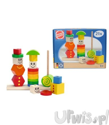 Figure Stacking Puzzle