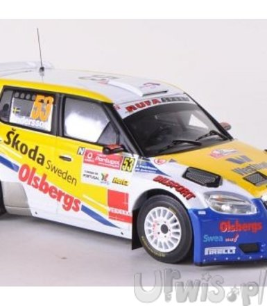 Skoda Fabia S2000 #53 P.G. Andersson