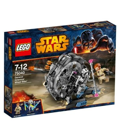 LEGO SW General Grievous ` Wheel Bike