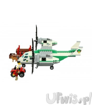 Lego City Wirolot towarowy 60021