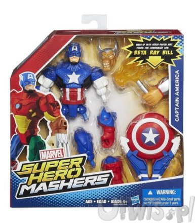 Super Hero Mashers, Captain Amer.