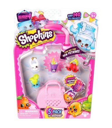 SHOPKINS 5 pack S4