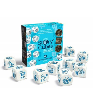 Gra Story Cubes: Actions