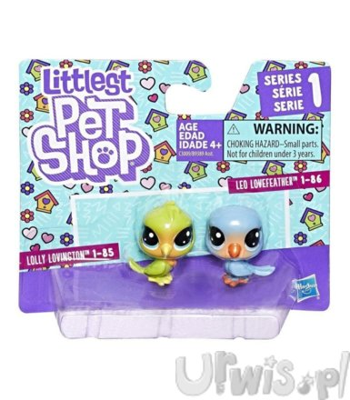 Littlest Pet Shop Dwupak, Love Birds