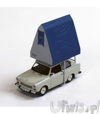 Trabant 601 with Roof Tent in Resin