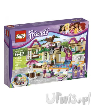 Lego Friends Basen w Heartlake 41008