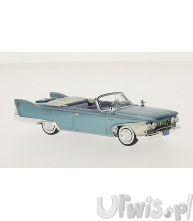 Plymouth Fury Convertible 1960 (metallic turqois/white)