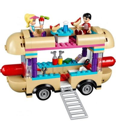 LEGO Friends Furgonetka z hot dogami w parku 41129