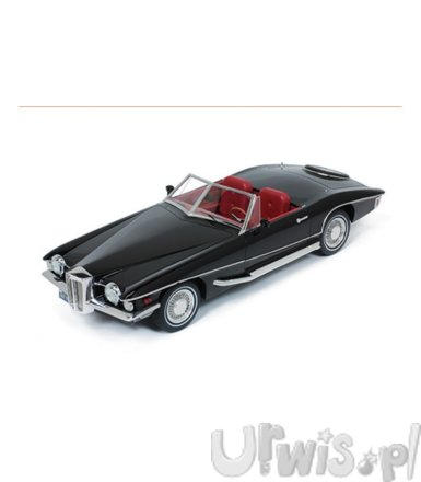 Stutz Blackhawk Convertible 1971 (black)
