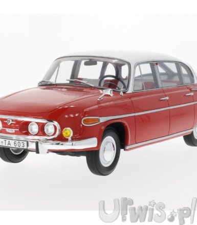 BOS MODELS Tatra 603 196 9 (red/white)