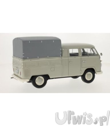 Volkswagen T1 Double Cabin with Cover 1960 (light grey)