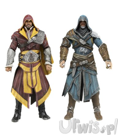 NECA 2-Pack Ezio Assassins Creed