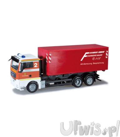 HERPA MAN TGX XL roll-off Container