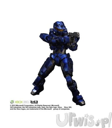 SQUARE ENIX Spartan Mark V Blue