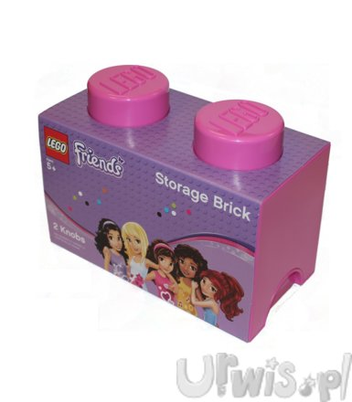 Lego Friends Storage Brick 2 różowy 40021741