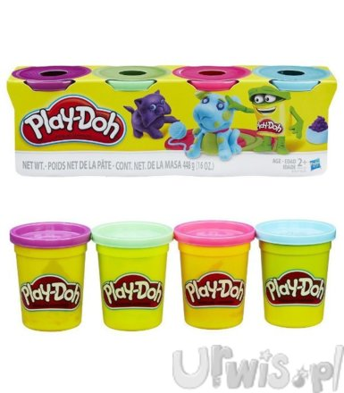 PlayDoh 4pak Bright Color